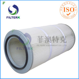 Washable Pleated Polyester Dust Collector Cartridge Air Filter pictures & photos