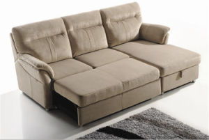 Furniture Modern Design with Fabric Sofa Bed (722) pictures & photos