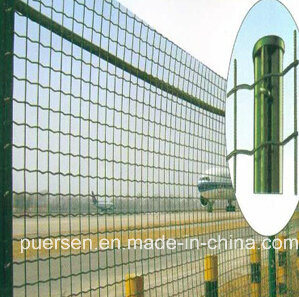 PVC Coated Welded Wire Roll Mesh Euro Fence pictures & photos