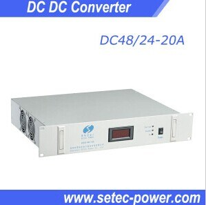 48VDC to 24VDC DC DC Converter for Telecom pictures & photos