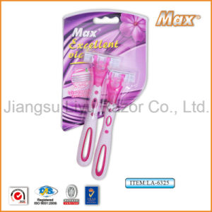 High Quality Popular in Iran Sharp Stainless Steel Blade Disposable Razor (LA-6325) pictures & photos