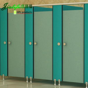 Jialifu Solid HPL Toilet Partition for Schools pictures & photos