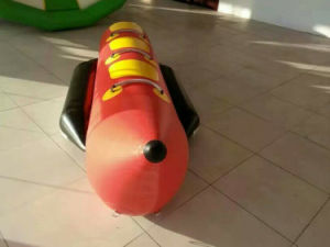 4 People 4m PVC Banana Boats Inflatable Water Folating Boat for Sale pictures & photos