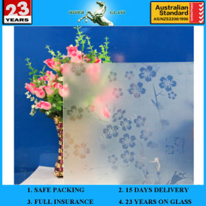 3-6mm Am-20 Decorative Acid Etched Frosted Art Architectural Glass pictures & photos