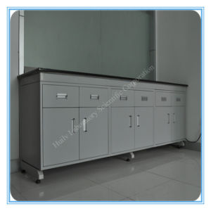 Best Laboratory C Frame Steel Work Table with 3 Layers pictures & photos