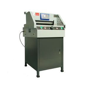 DC-8646rt Electric Program-Controlled Paper Cutting Machine pictures & photos