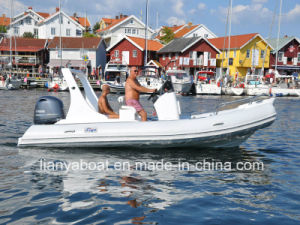 Liya 5.8m Rigid Hull Inflatable Boat Luxury Sail Boats pictures & photos