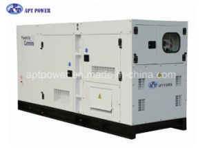 Three Phase Silent Diesel Generator Rate Output 419kVA 305kw for Factory, SGS Listed pictures & photos