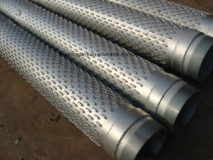 AISI 304/316 219mm 50bar Water Well Strainer/Bridge Shape Slot Screen pictures & photos