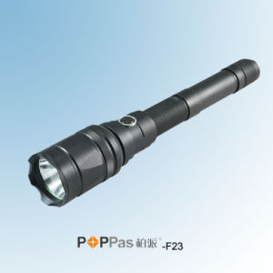 18650 Rechargeable CREE T6 High Power Tactical LED Flashlight (POPPAS- F23) pictures & photos