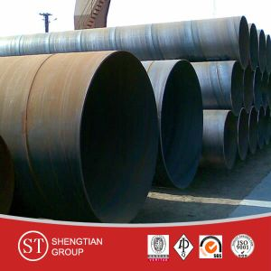 Carbon Steel ERW Steel Pipe pictures & photos