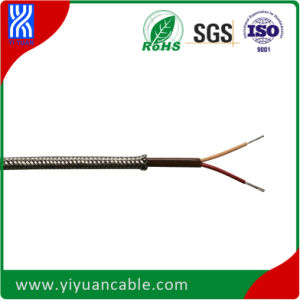 Thermocouple Cable Ffb-K-7X0.2mm2 Gf/Gf/Ss Braid