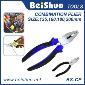 High Leverage Insulated Combination Cutting Pliers Comfort Cushion Grip Cutters pictures & photos