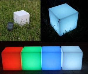 Rechargeable LED Lamps LED Furniture Cube Chairs