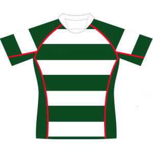 Personalized Mens Sublimation Rugby Jersey for Teams pictures & photos