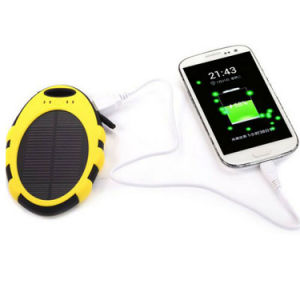 USB Waterproof Solar Power Bank Battery Charger for Cell Phone pictures & photos