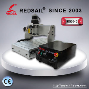 Desktop / Mini CNC Router with CE Certificate Redsail (ME3040) for Name Tags and Rubber