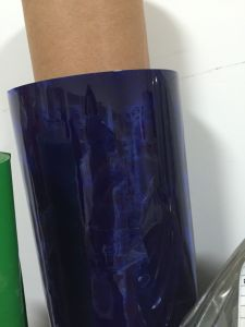 PVC Clear Color Film Used for Packaging Supplier pictures & photos