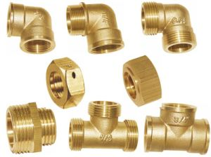 Brass Fitting-Brass Tee-Brass Elbow-Brass Pipe Fitting (a. 0340) pictures & photos