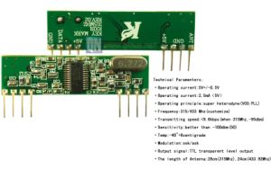 Superheterodyne Ask Receiver Module (RX3400) pictures & photos