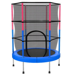 Colorful Fitness Trampoline with Safety Net pictures & photos