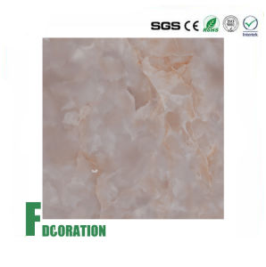 UV Coating PVC Decorative Board Artificial Marble pictures & photos