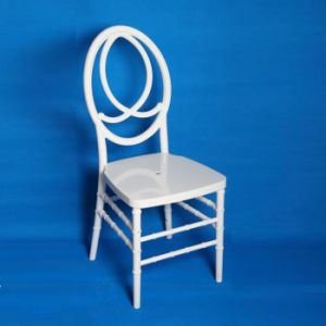 White PC Resin Phoenix Infinity Wedding Chair pictures & photos