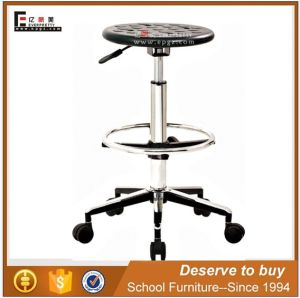 China Adjustable Lab Furniture Round Lab Chair Stool (GT-10) pictures & photos