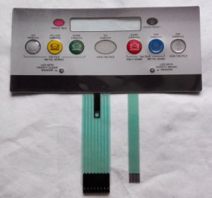 Luphi Customizing Various Kinds Keypad Membrane Switch (MIC0246) pictures & photos