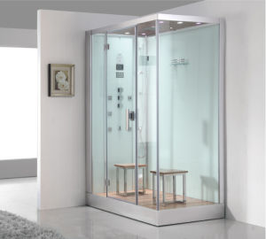 2016 New Style Luxury Steam Shower Enclosure with Tempered Glass Asts1061 pictures & photos