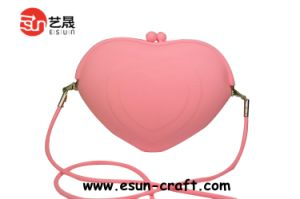 Popular Silicone Coin Purse / Wallet Different Shape Eco Friendly (SP029)