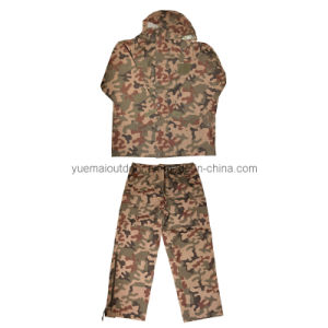 Polish Camo Waterproof and Breathable Parka and Pant pictures & photos