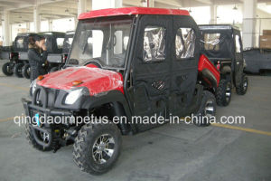 500cc 4X4wd EEC&EPA UTV with Closed Cabin pictures & photos