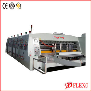 CE Verified Automatic High Speed Flexo Printing Slotter (ZYK920)