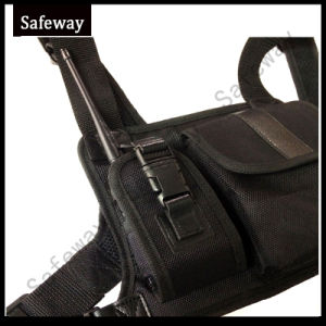 Two Way Radio Pouch Chest Backpack Bag for Baofeng pictures & photos