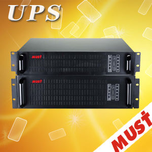 Must High Frequency 19 Inch Rack Mount Online UPS 1kVA-6kVA pictures & photos