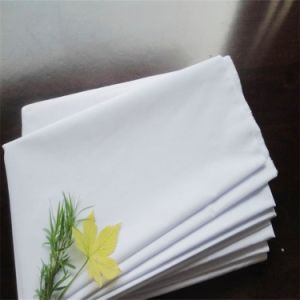 Bleach White Uniform Shirt Fabric pictures & photos