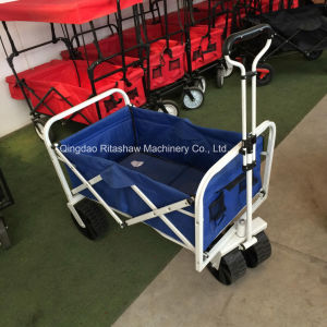 Collapsible Folding Garden Cart Heavy Duty Utility Wagon Beach Cart pictures & photos
