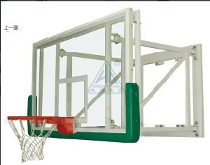 Wall Mount Glass Basketball Backboard pictures & photos