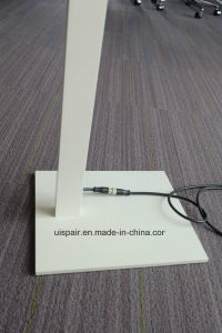 Uispair Modern Office 10W 32V Thin Rectangular Steel Base Aluminium Alloy LED Lamp Floor Lamp pictures & photos