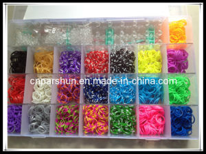 New arrival diy 4400 loom rubber bands kit in plastic box pictures