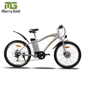Cheap Electric Mountain Bike with Grey Frame pictures & photos
