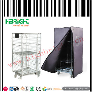 a Frame Wire Foldable Roll Container pictures & photos