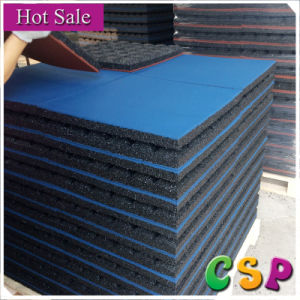 Rubber Flooring Tile of 45mm Thickness for Playground pictures & photos