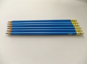 Hb Plastic Resin Pencil with Eraser