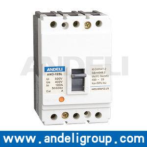 Am3-125/1p, 2p Series Moulded Case Circuit Breaker pictures & photos