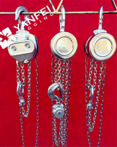 Stainless Steel 304 Chain Block Hoist pictures & photos