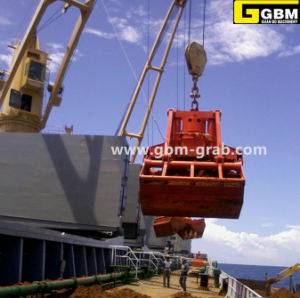 Ship Crane Electric Hydraulic Clamshell Bucket Maine Grab pictures & photos