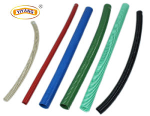 Green Clear PVC Corrugated Suction Hose pictures & photos