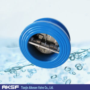 Cast Iron Dual Plate Check Valve Wafer Type Ss Disc pictures & photos